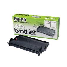 Brother Original Black PC70 Fax Thermal Ribbons (PC-70)
