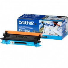 Brother Original High Capacity Cyan TN135C Laser Toner Cartridge (TN-135C)