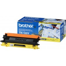 Brother Original High Capacity Yellow TN135Y Laser Toner Cartridge (TN-135Y)