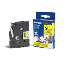 Brother Original TZ621 Black On Yellow Labelling Tape (TZE-621)
