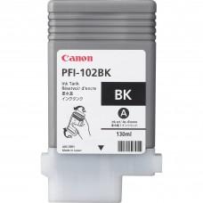 Canon Original Black PFI-102BK Ink Cartridge (0895B001AA)