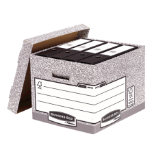 Fellowes SYSTEM STANDARD BOX – GREY(EU)(FSC)
