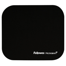 Fellowes MOUSE PAD WITH MICROBAN - BLACK
