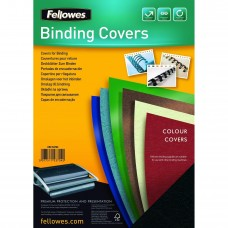 Fellowes 100 Pack of 150M Clear A4 PVC Binding Covers (53760)