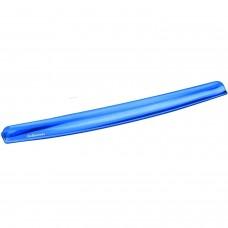 Fellowes Crystals Blue Gel Wrist Rest (91137)