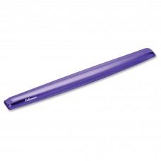 Fellowes Crystals Purple Gel Wrist Rest (91437)