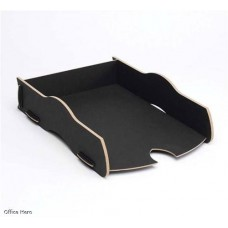 Fellowes Earth Series Black Stackable Tray (80115)