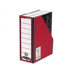 Fellowes Earth Series Red Magazine File (80124)
