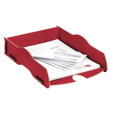 Fellowes Earth Series Red Stackable Tray (80127)