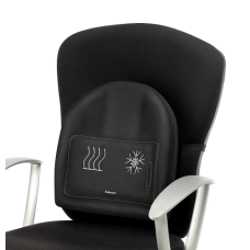 Fellowes Black Heat and Sooth Backrest (91900)