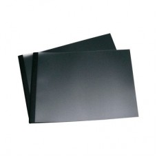 BINDING COVER BLACK LANDSCAPE 3 mm 15-30 pages BINDOMATIC