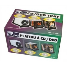 CD/DVD TRAY holds up TO 32CDs OR 11DVDs DAC