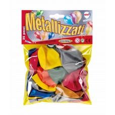 BALLOONS METALLC x25