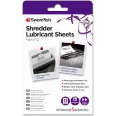 SHREDDER OIL SHEETS x12 SWORDFISH