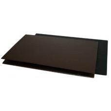 DESK PADS BLK PVC 50X63CM W NON SLIP BACKING