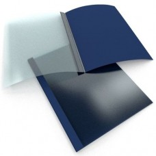 BINDING COVER BLUE 1.5 mm 1-15 pages BINDOMATIC