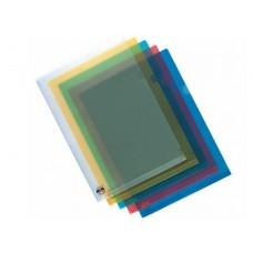 A4 Blue PVC L-Shape File (03929)