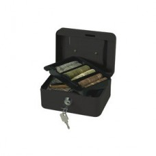 CASH BOX BLACK  6in/15cm