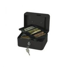 CASH BOX BLACK  6in/15cm