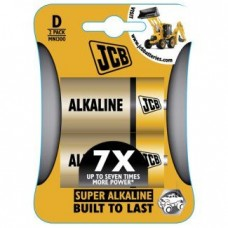 BATTERIES ALKALINE (D) LARGE x2 JCB
