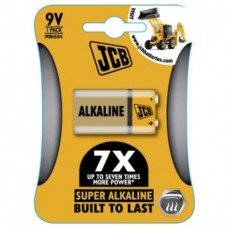 BATTERY ALKALINE 9V x1 JCB