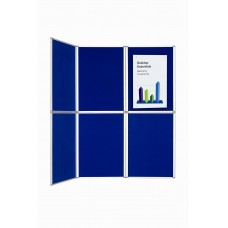 NOTICE BOARD 6 PANEL BI-OFFICE ROCADA