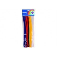 CRAFTS PIPE CLEANERS ASSORTED x50
