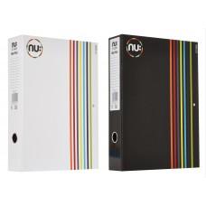 BOX FILE STRIPES A4 NUCO