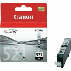 Canon Original Black CLI-521BK Ink Cartridge (2933B001AA)