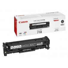 Canon Original Black 718 Toner Cartridge (2662B002AA)